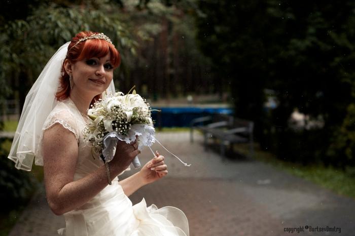 Рыжая невеста:)